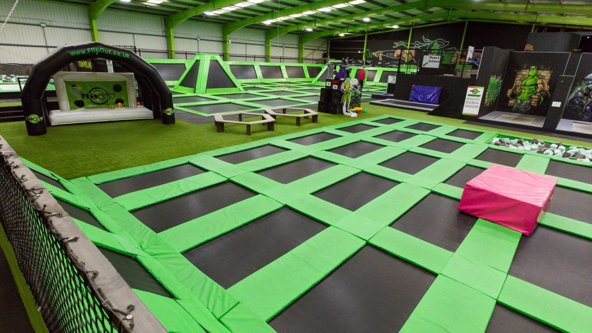Flip Out trampoline park